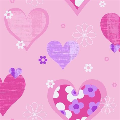 arthouse happy hearts flowers childrens kids bedroom wallpaper 533701 arthouse happy hearts flowers childrens kids bedroom
