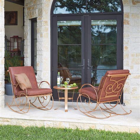 outdoor furniture wellington woodard wellington rocker 670013