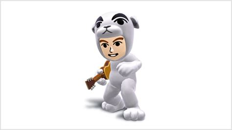 K K Link k k slider costume for mii gunner smash brothers