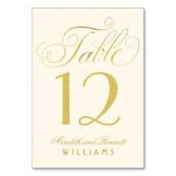 table numbers gifts on zazzle