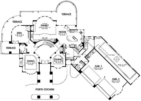 house plan with indoor pool house plan indoor pool house design plans