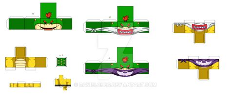 Bowser Papercraft - bowser jr by danielcheo on deviantart