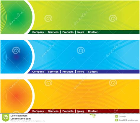 header footer design html web page header stock vector illustration of consulting