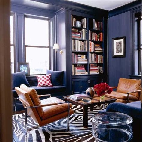 Jewel Tone Bedroom Is Cognac Leather Furniture As Neutral As Denim Yay Or