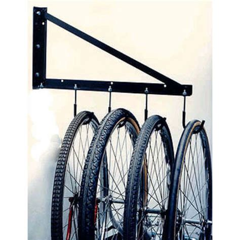 bike rack garage wall garage bicycle rack by heavy duty pro kitchensource com