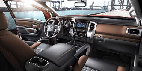 nissan truck 2016 interior 2016 nissan titan xd review