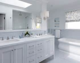 White Bathroom Cabinet Ideas Blue Backsplash Transitional Bathroom Artistic Designs For Living