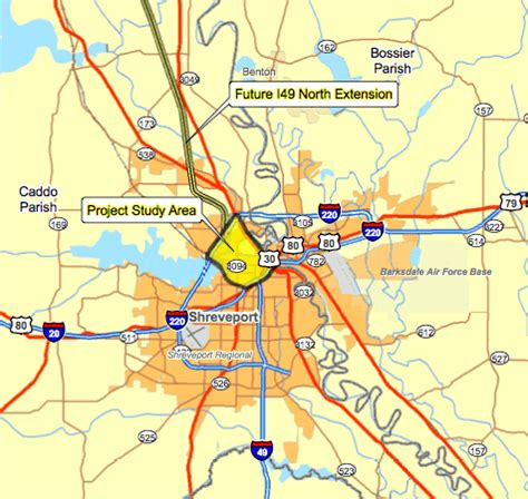 louisiana economy map more meetings to talk about i 49 routes through shreveport