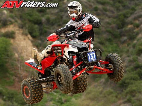 motocross atv mitch reynolds 2009 ama pro atv motocross rookie