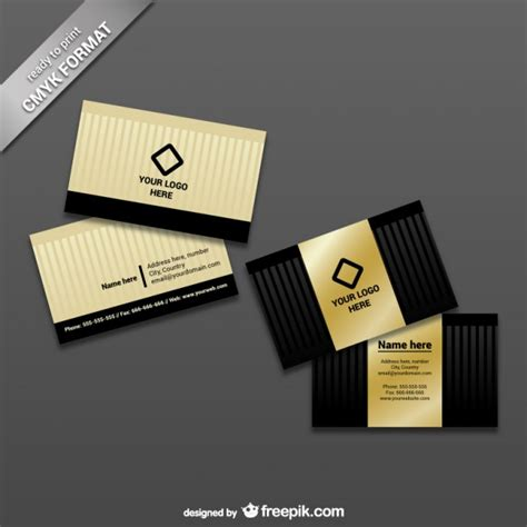 free business card template print ready ready to print business card template vector free