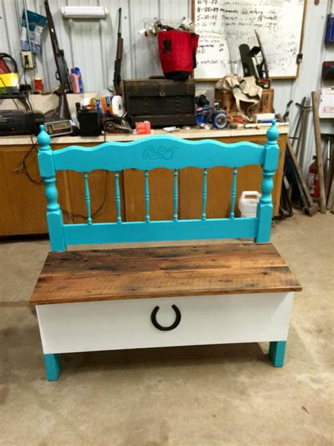 headboard bench plans old headboard and reclaimed pallet bench 101 pallets