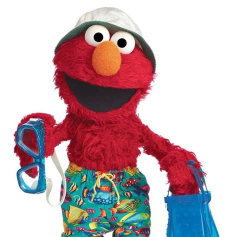 elmo va a la playa elmo says what a great day to go