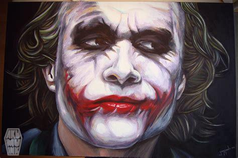 joker painting joker canvas 3 pt 5 done