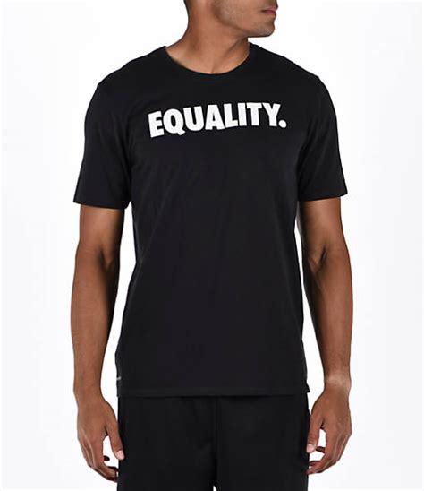 Tshirt Nike Finish Line s nike equality basketball t shirt finish line