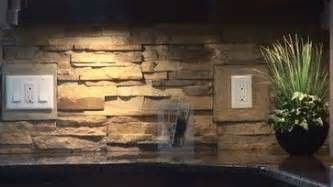Stone Veneer Kitchen Backsplash by Real Stone Backsplash Insulstone Stone Veneer Peel