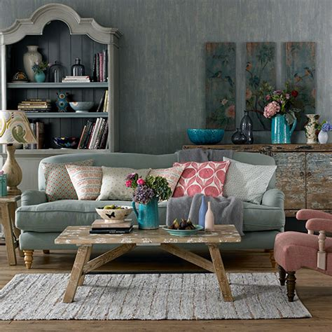 bohemian 1920s feel living room decorating ideal home
