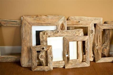 cornici di legno grezzo idee per cornici fai da te fotogallery donnaclick