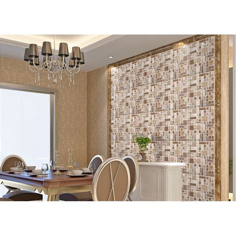 wall backsplash crystal glass mosaic tile backsplash metal tiles wall