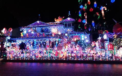 christmas light displays   state travel