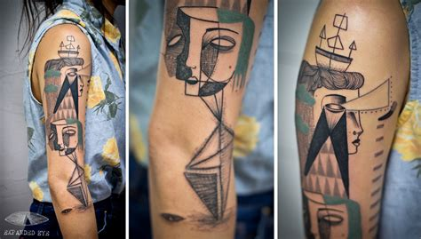 london tattoo line work beautiful illustrated tattoos by jade tomlinson and kev james