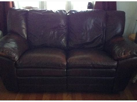 zero clearance recliner leather reclining loveseat zero clearance chocolate
