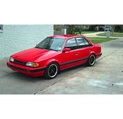 Image Gallery 1988 Mazda Protege