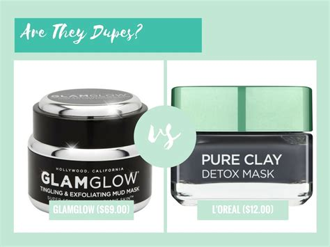 Glamglow Detox Mask a dupe for glamglow youthmud tinglexfoliate treatment