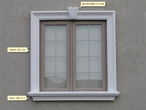 design frame window stucco window frame not the piece in the middle movin