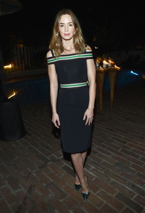 emily blunt vanity fair and barneys new york dinner