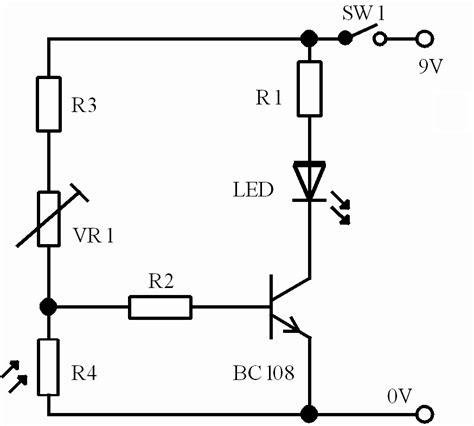 variable resistor vr1 electronics