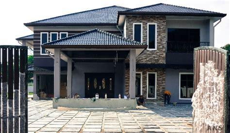 Decoration Rumah Teres by Banglo Arkitek Norman Selamat