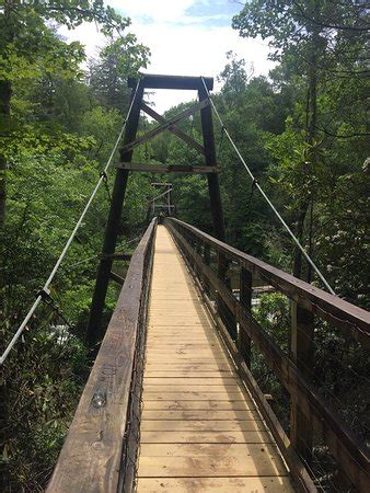 swinging bridge in blue ridge ga toccoa river swinging bridge blue ridge ga top tips