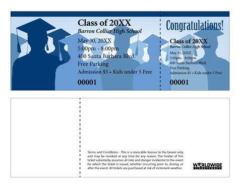 graduation ticket template prepare for graduation with custom printed tickets and badges