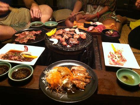 japanese grill on table a look at bali indonesia ubud seminyak and kuta 23