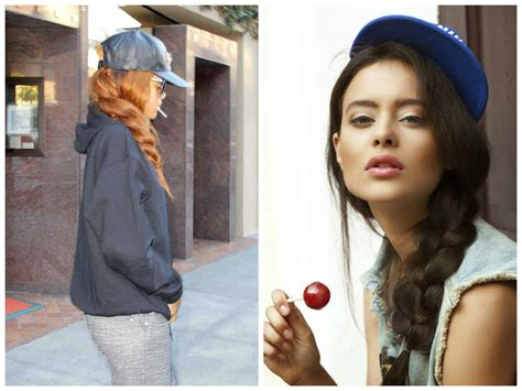 Best Hairstyles For Hats by The Best Hairstyles To Wear With A Baseball Cap Hair