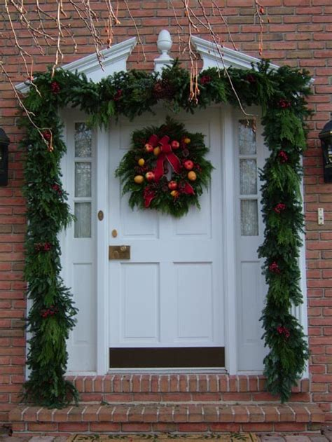 pictures of christmas door decorating latest fashion 360