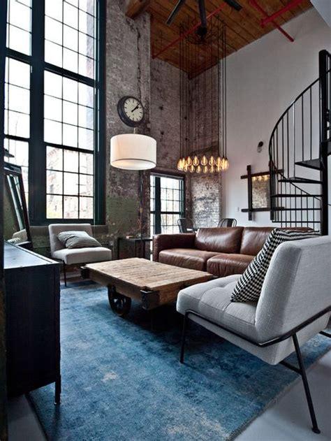 industrial living room furniture 25 best ideas about industrial living rooms on pinterest