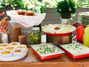 Bbq Buffet Table Ideas How To Host A Backyard Barbecue Wedding Shower