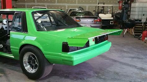 mustang aluminum wing 1979 1993 mustang coupe hatch fabricated wing innovative