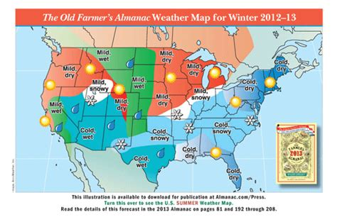 the old farmer s almanac 2013 weather predictions mild the old farmer s almanac 2013 weather predictions mild