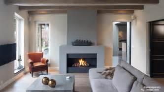 grey fireplace grey painted fireplace