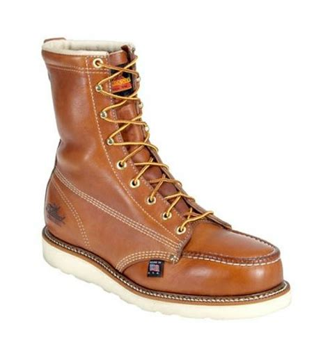 safest motorcycle boots thorogood 8 quot moc safety toe boots revzilla