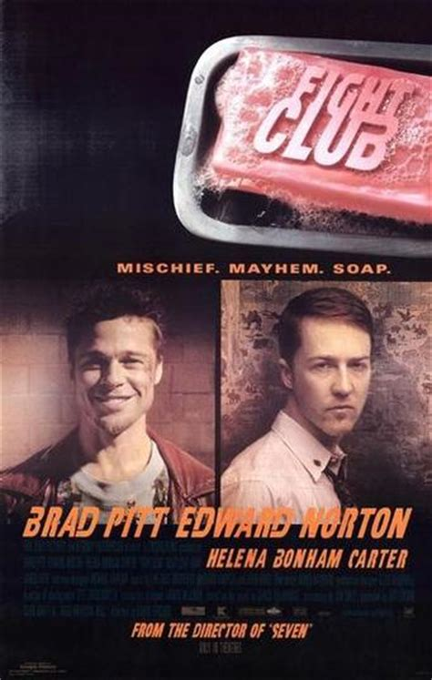 Studded Fight Club by Fight Club Mischief Soap Poster