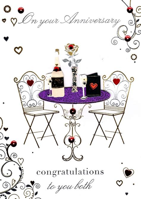 Congratulation Wedding Anniversary by Congratulations On Your Anniversary Greeting Card Cards