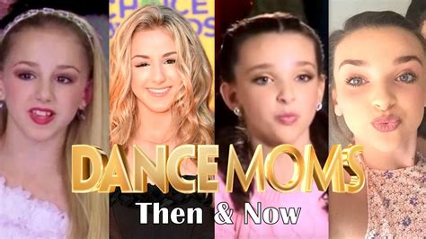 where are the dance moms kids now dance moms stars then and now 2017 youtube