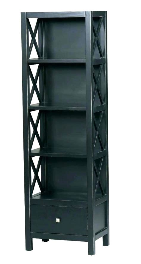 narrow corner bookcase the narrow corner bookcase oak 242172