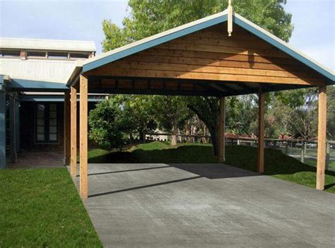 Build Your Own Carport wooden carport building helpful tips how to build a wooden carport garden