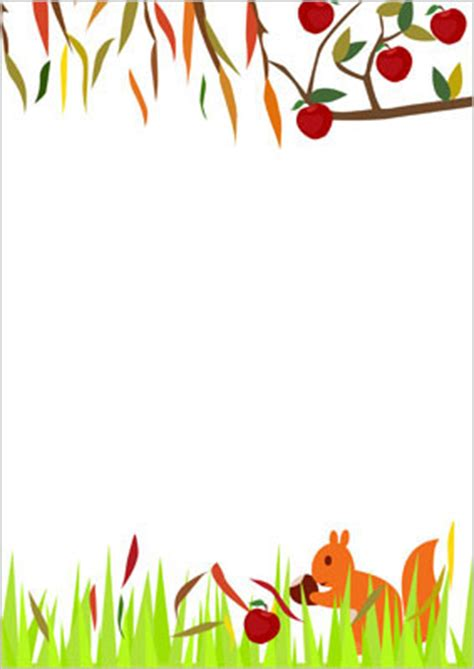 autumn notepaper free early years amp primary teaching
