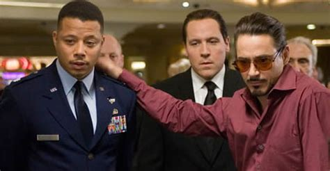 terrence howard iron man terrence howard left iron man 2 because they would only