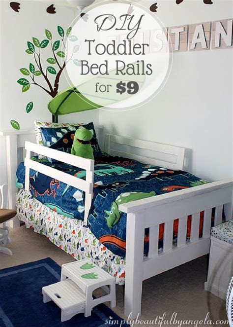 diy bed rail simply beautiful by angela diy toddler bed rails
